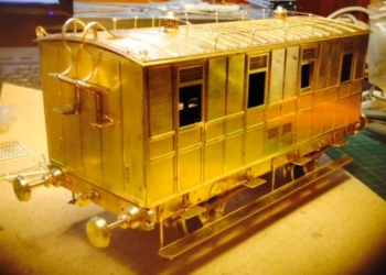 Williams Models LNWR coach etched brass